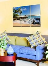 Canvas Prints FRAMED - Ocean Wave Wall Art - Prints On Canvas - Framed Pictures