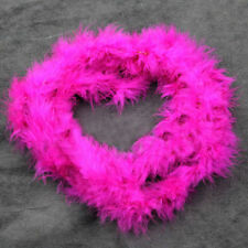 rose red  2M Feather Boa Strip Fluffy Craft Costume Fancy Dress Party Decoration