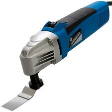 Silverline DIY Oscillating Multi-Tool with Sawing Sanding Scraping Accessories