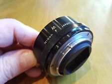 Genuine Nikon Nikkor M extension tube for 50mm f/3.5 Micro Nikkor F