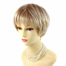 Beautiful Short Hair Blonde mix  Ladies Wigs Summer Style from WIWIGS UK