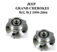 JEEP GRAND CHEROKEE 1998-2004 WJ WG FRONT WHEEL BEARING HUBS BEARINGS ASSEMBLY