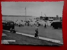 POSTCARD RP KENT MARGATE THE HARBOUR IN BLACK AND WHITE