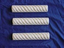 SMOOTH ROPE BORDER TILE TRIM EDGING CONCRETE PLASTER  RESIN MOLD 6002