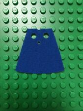 1 custom made to fit  lego minifigs Cape Royal Blue Castle Hobbit
