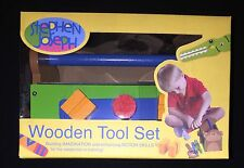 STEPHEN JOSEPH WOODEN TOOL SET WOODEN BLOCKS