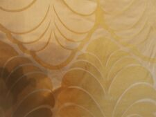 Laura Ashley Gold curtain fabric 6 metres   New