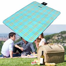 Large Picnic & Beach Mat Camping Outdoor Blanket Portable Basket Moistureproof