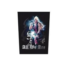 Doro All We Are Sew On Back Patch NEW OFFICIAL