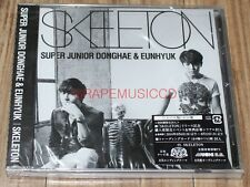 SUPER JUNIOR DONGHAE & EUNHYUK SKELETON K-POP CD JAPAN EDITION FIRST PRESS NEW