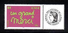 Y&T N°  3637A  Timbres de message --  logo  Cérès  ****