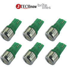6 x T10 Green 6 SMD5630 3W Super Bright 194 168 2825 W5W LED Car Lights Bulb