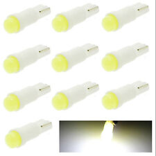10 X White T5 1 COB LED Dash Board Wedge Gauge Cluster Car Gauge Light Bulb SK