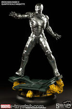 MARVEL: IRON MAN MARK II QUARTER SCALE MAQUETTE SIDESHOW PREMIUM FORMAT