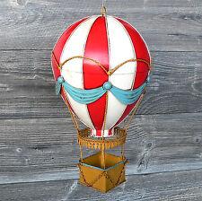 Blechmodell Ballon Heißluftballon Blechspielzeug Ballonfahrt Geschenk Metall NEU