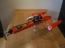 Rigger Hydro SAW Outrigger Hydroplane Rc Boat OS MAX VXM TURBO 3.5cc Complet