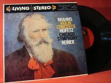 """RCA LSC-1903 REINER-HEIFETZ """" BRAHMS-VIOLIN CONCERTO """" (ANALOGE LP/NEW=UNPLAYED)"""