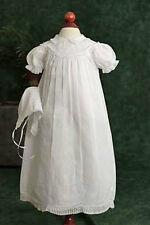Girls Embroidered Christening Gown (Feltman Brothers - 5980) 6 to 9 months