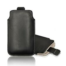 Echt Leder Pull Up bolsa estuche de piel Samsung Galaxy s4 mini, s3 mini s2,