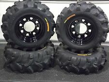 "POLARIS RZR 25"" EXECUTIONER ATV TIRE- ITP BLACK ATV WHEEL KIT COMPLETE"
