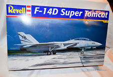 F-14D Super Tomcat Revell Monogram Aircraft Model Kit 85-4729 From 2005 No Decal