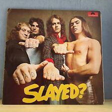 SLADE Slayed? 1972 UK VINYL LP EXCELLENT CONDITION  Mama Weer All Crazee Now A