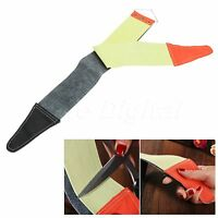 Canvas Leather Sharpening Strop Barber Shaving Straight Razor Sharpener Strap