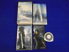 psp CRISIS CORE Final Fantasy VII Special Limited Edition + Artbook PAL UK