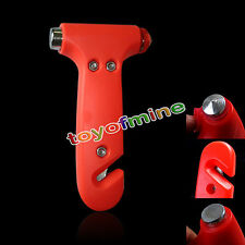 Auto Car Bus Safety Escape Window Breaker Emergency Hammer Seat Belt Cutter Tool