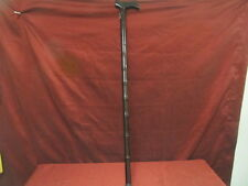"""NEW 35"""" DARK WOOD BAMBOO STYLE WOODEN WALKING CANE W/ RUBBER STOPPER"""