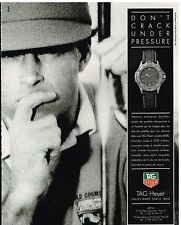 Publicité Advertising 1992 La Montre Tag Heuer Serie 4000