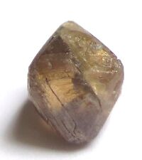 3.45 Carats Uncut Raw Gemmy COGNAC Octahedron Natural Rough Diamond