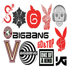 BIGBANG BIG BANG Sticker #1,1x2+10X4 Total 42 Sheet  - GD TOP Fantastic YG LOSER
