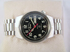 100% Auth Vintage WEST END Automatic MILITARY SOWAN PRIMA D&D Swiss Made Watch
