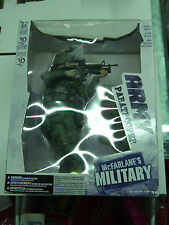 """McFARLANE MILITARY ARMY PARATROOPER 12"""" DELUXE FIGURE ASSAULT RIFLE 2006 MIB"""