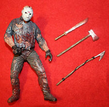 1998 MOVIE MANIACS SERIES 1 BLOODY Jason Voorhees Goes to Hell Friday the 13th