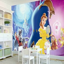 Disney Princesses Girls Bedroom PHOTO WALLPAPER WALL MURAL PICTURE