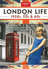 FREE US SH (int'l sh=$0-$3) USED DVD London Life in the 1930s & 50s & 60s Coll~,