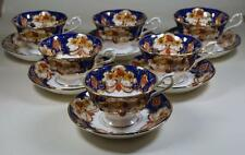 Royal Albert Vintage Bone China Heirloom Teacups Tea Cups and Saucers x 6