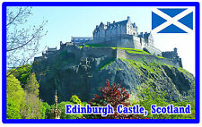 EDINBURGH CASTLE, SCOTLAND - SOUVENIR NOVELTY FRIDGE MAGNET - NEW - GIFT