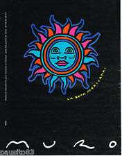 PUBLICITE ADVERTISING 075  1993  LA BOTA MEXICANA  chaussures bottes par MURO