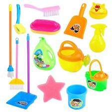 Children Kids Mini Cleaning Toy Set Pretend Role Play Housekeeping House Broom