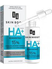 AA SKINBOOST Antifalten SERUM 15 % HYALURONSÄURE Konzentrat mit Algen 30ml