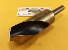 "Drill Hog 1-1/8 Drill Bit 1-1/8"" Silver Deming Bit USA MADE Lifetime Warranty"
