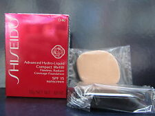 Shiseido Advanced Hydro Liquid Compact Refill I40 Natural Fair Ivory SPF15 NEW