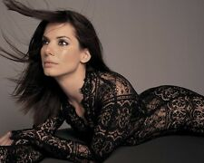 Sandra Bullock Black Lace 10x8 Photo