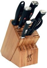 ZWILLING J.A. Henckels TWIN Four Star II 7 Piece Knife Block Set 33402-000 NEW