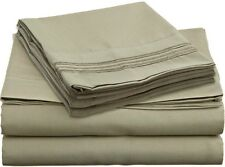 2000 COUNT, DEEP POCKET, 4 PIECES,SHEET SET,15 COLORS,SOLID,ALL SIZES AVAILABLE.