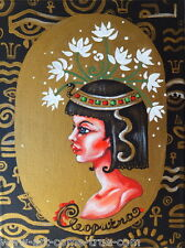 Olie Griffard Original painting CLEOPATRA EGYPTIAN EGYPT silhouette abstract ART
