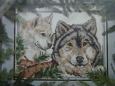 Wolves Picture Counted Cross Stitch Kit Golden Bee 60518 1994 Candamar Designs